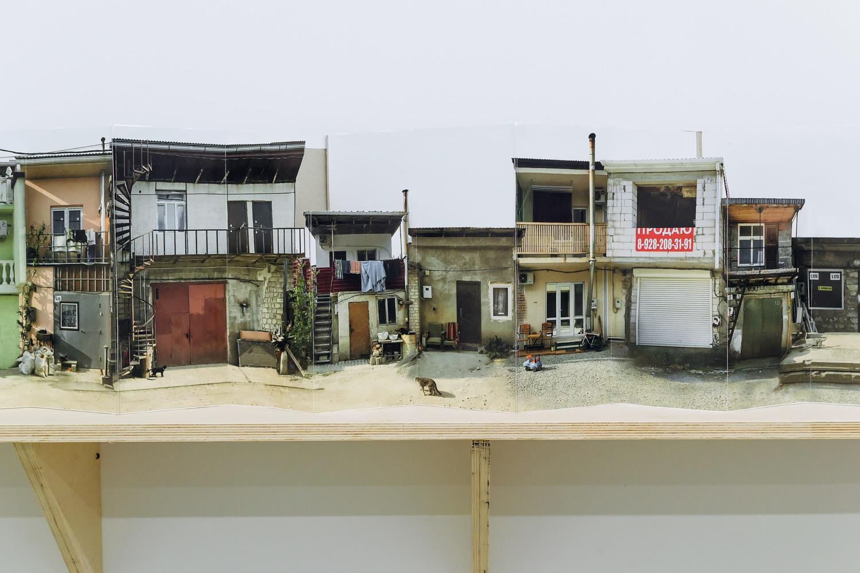 Кооператив «Восход». Фрагмент экспозиции. Поп-ап панорама, 2020 // Фото: Юлия Шафаростова