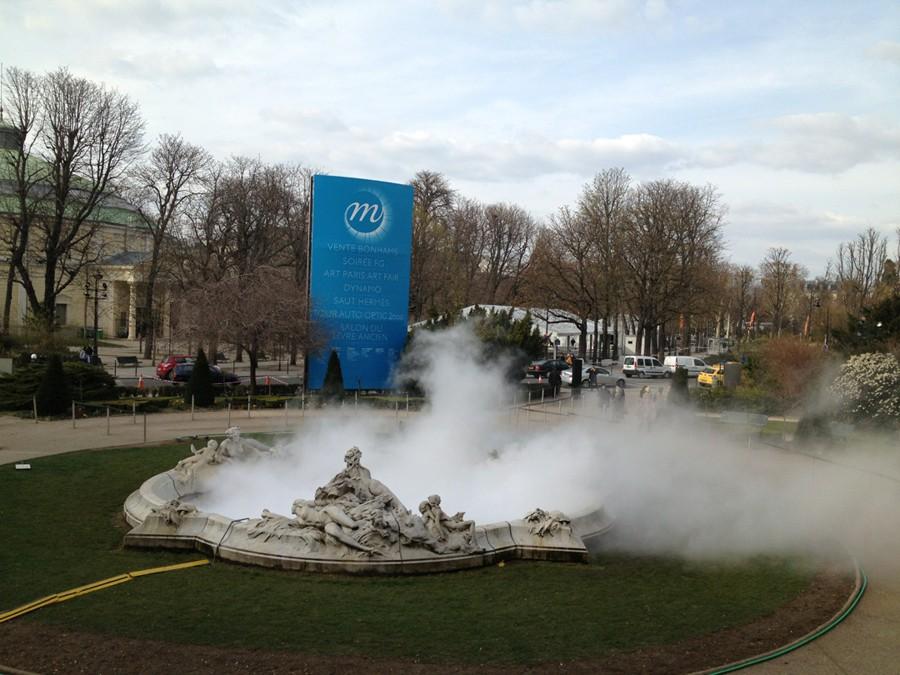 Скульптура из дыма № 07156, Фудзико Накая, Париж, Гран-Gале, 2013