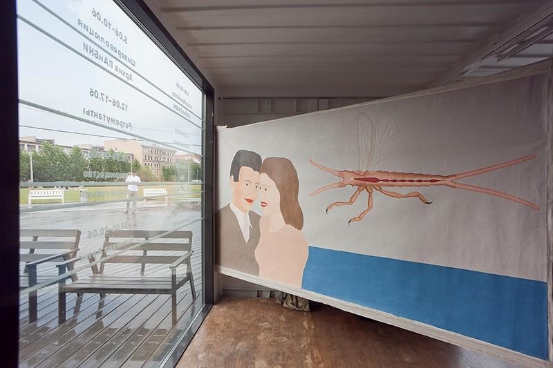 Выставка «Navicula Artis» галерее Новой Голландии, Санкт-Петербург, 2013