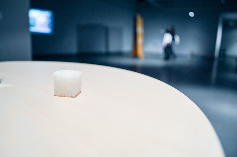 Лаура Каминскайте, Sugar Entertsinment, «Вильнюсская беседка», ГЦСИ, Москва, 2013 // Фото: Клястутис Шапока