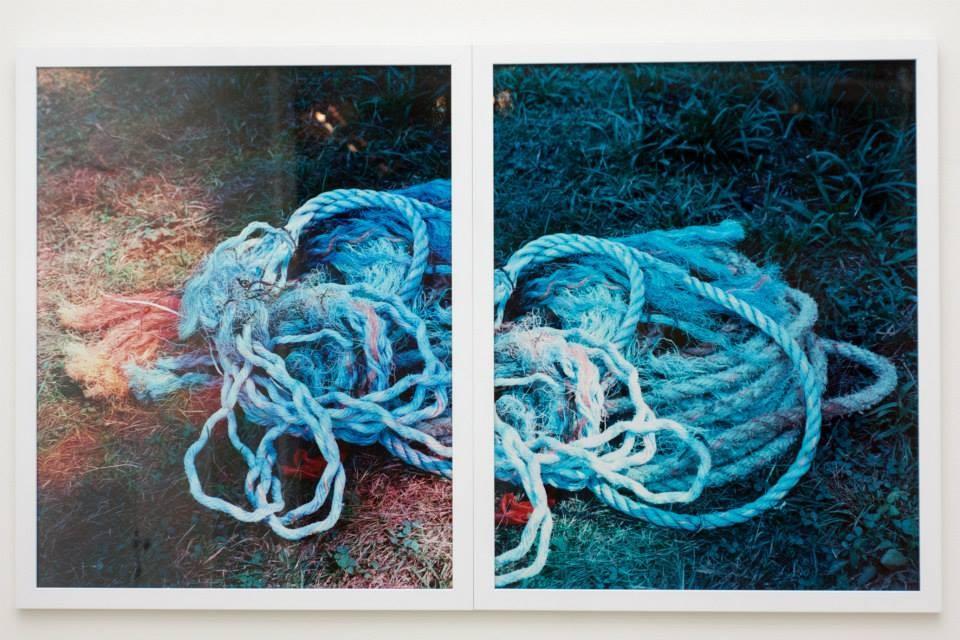 Работа Диллона ДеУотерса, «Игра света», Галерея «21», Москва, 2013 // Фото: галерея «21»