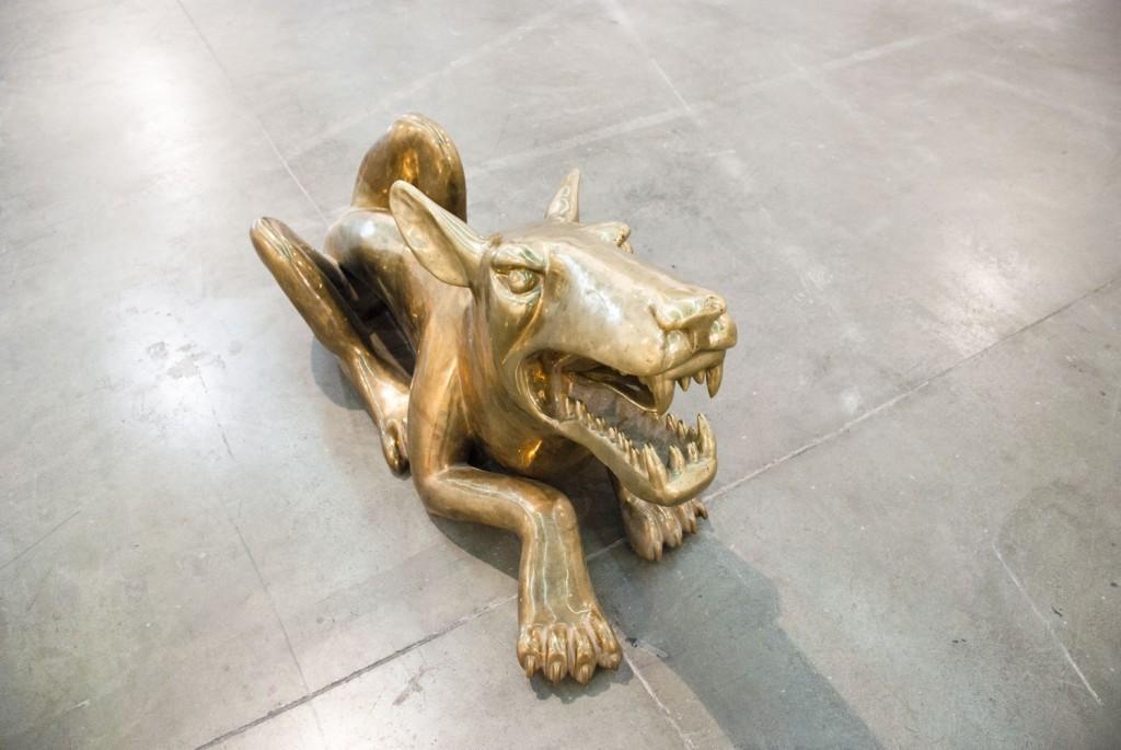 Александр Повзнер. Большая собака. 2011. Бронза