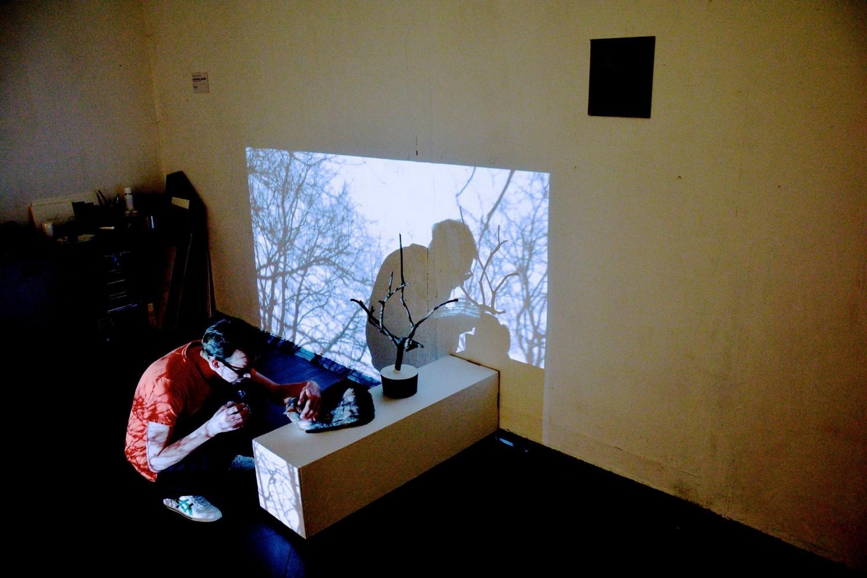 Илья Романов «Меланхолия. Декабрь». Москва, галерея «39», 2014 // Фото: Иван Лунгин