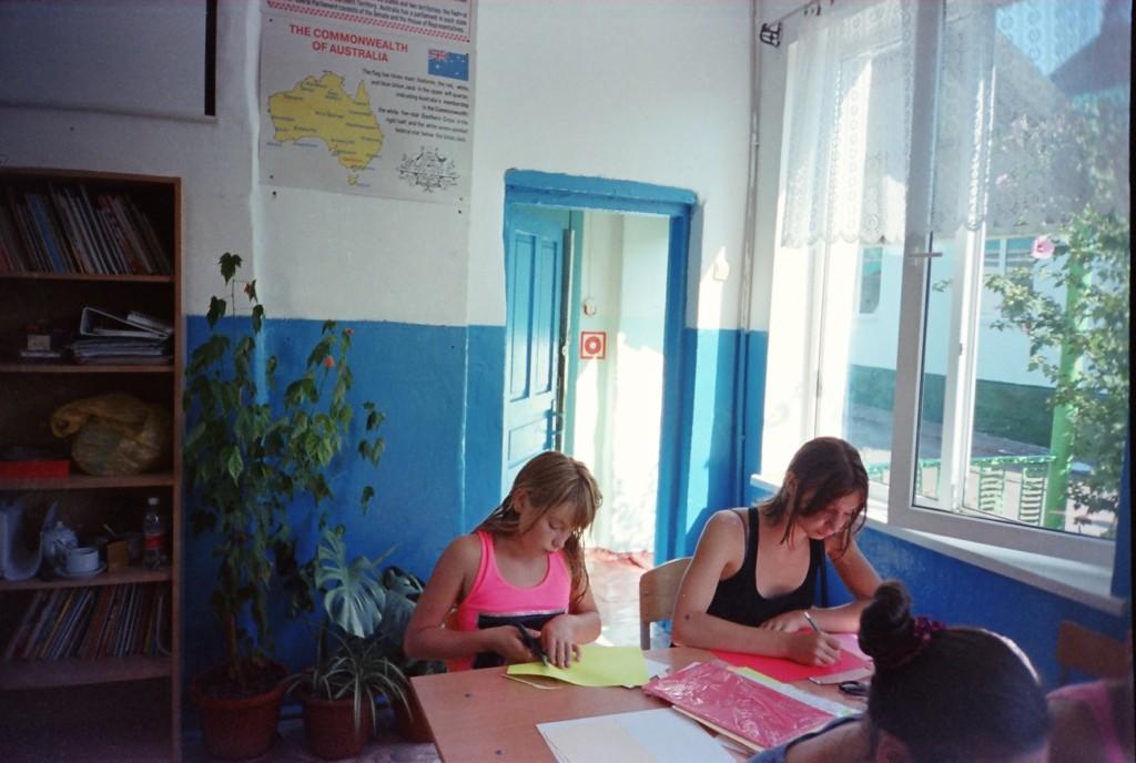 Воркшоп в школе в селе Индюк