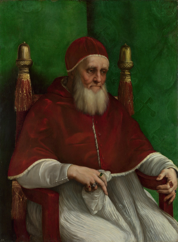 Рафаэль Санти. Портрет Юлия II