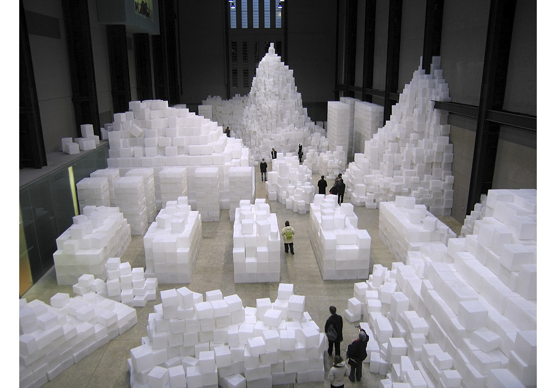 Rachel Whiteread. Embankment. 2005
