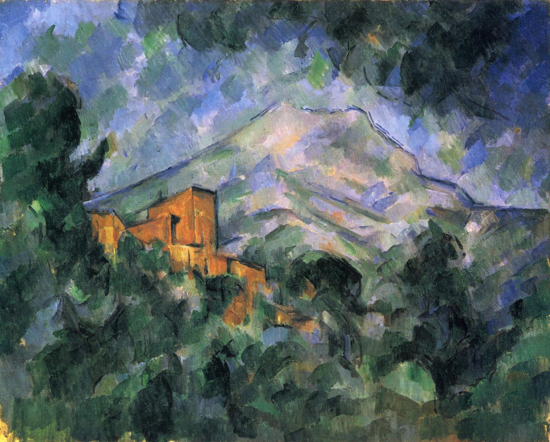 Поль Сезанн. Гора в Сен-Виктуаре