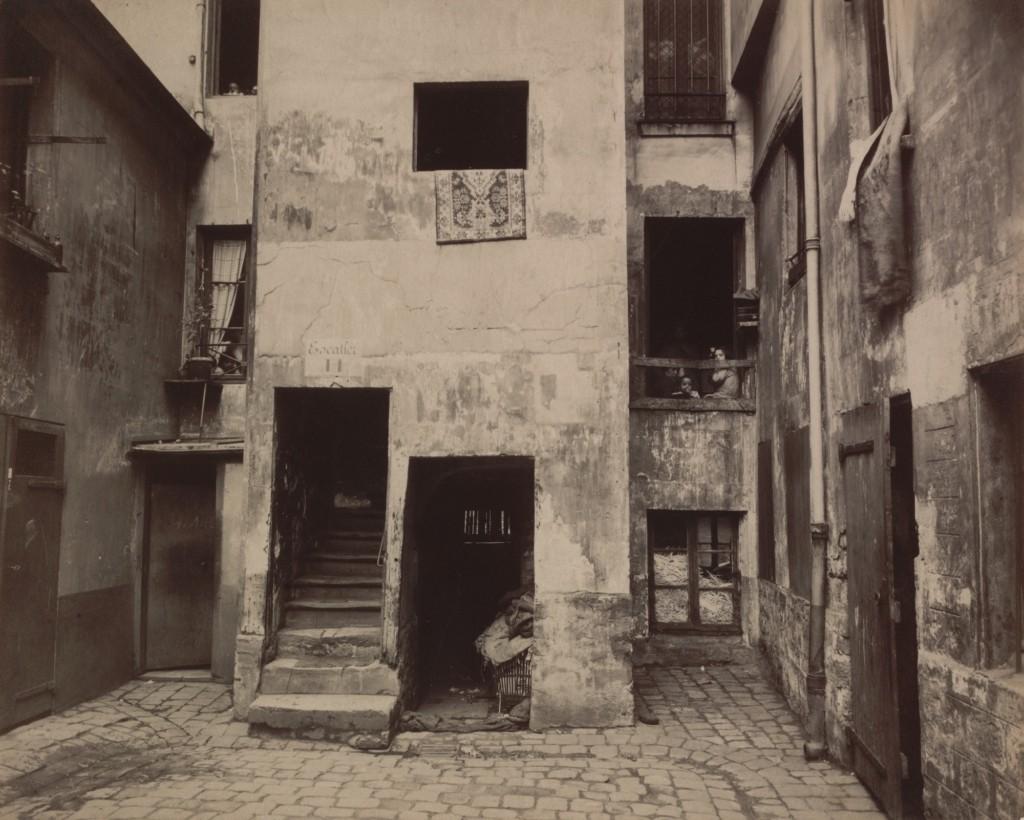 Cour, 41 rue Broca, 1912