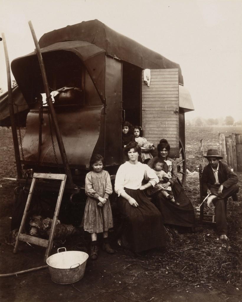 Romanichels, groupe, 1912