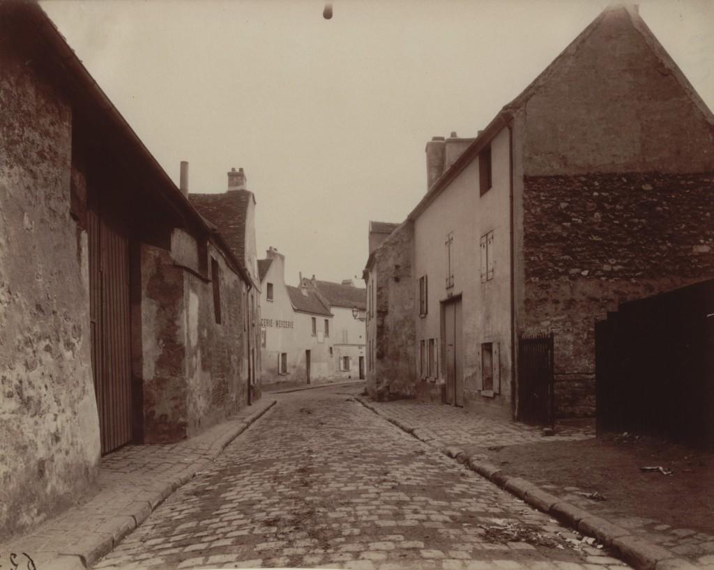 Villejuif, vielle Rue, 1901