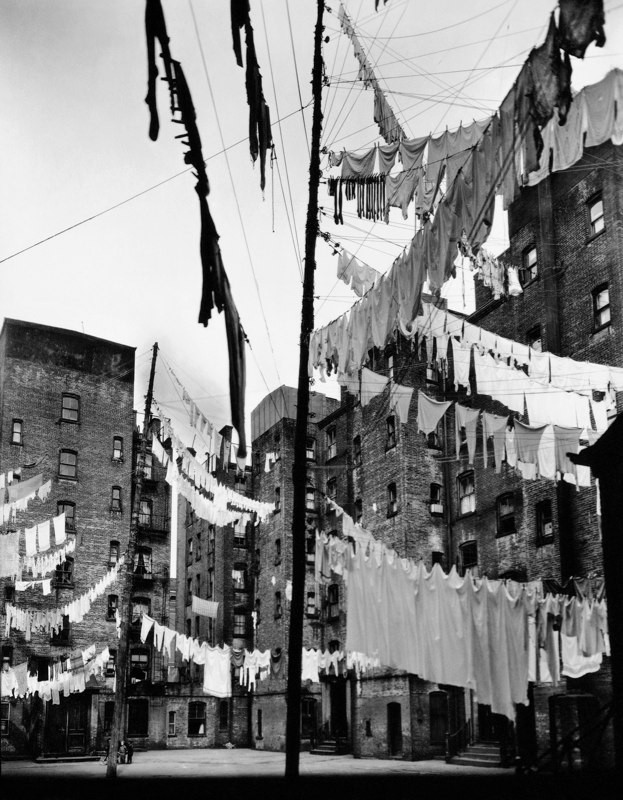 Court of the First Model Tenement, 12ndStreet and 1st Avenue, New York, 1936