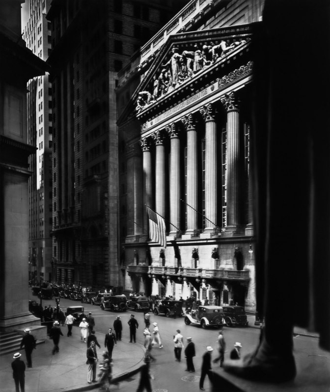 New York Stock Exchange, New York, 1933