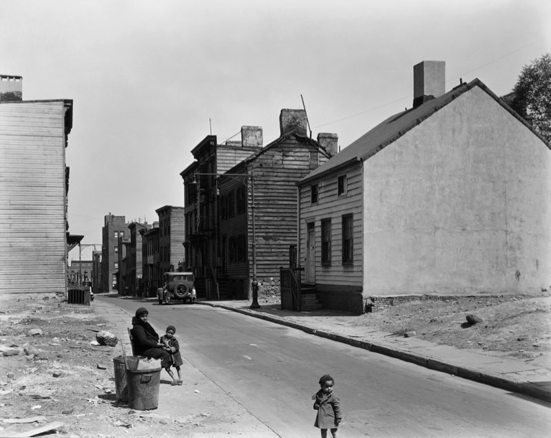 Talman Street between Jay and Bridge, Streets , Brooklyn, New York 1936
