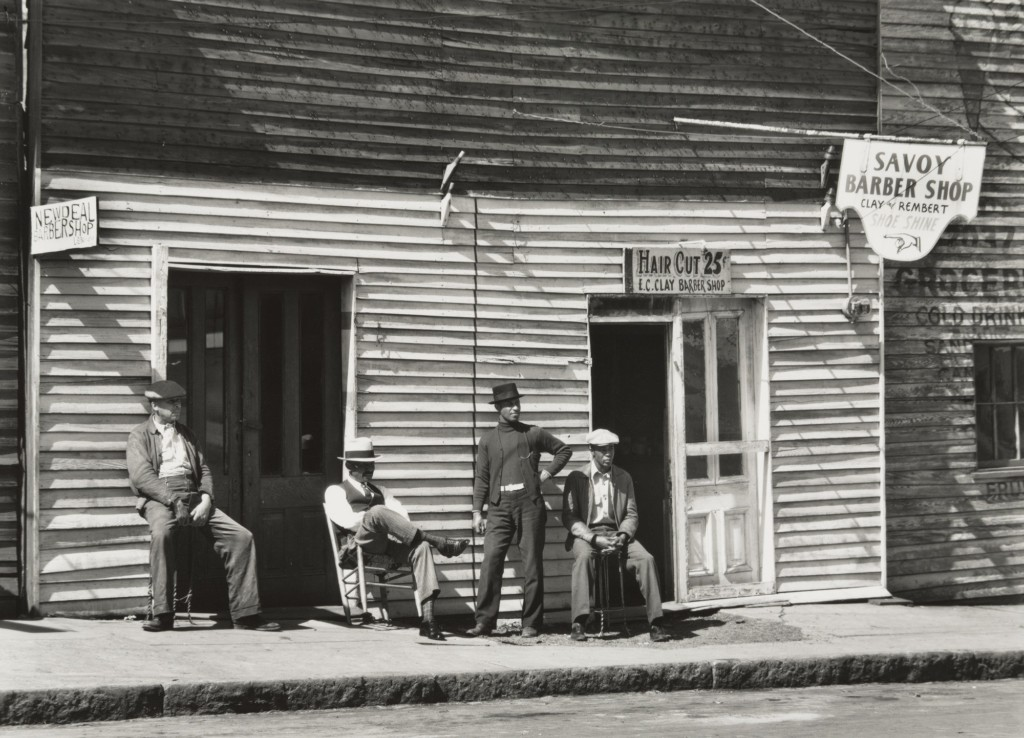 Barber Shop, Southern Town, 1936