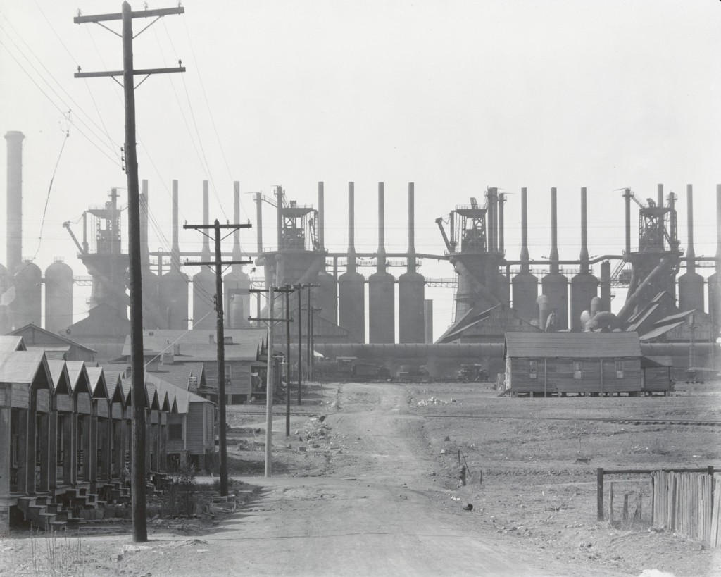 Birmingham Steel Mill and Workers' Houses, 1936