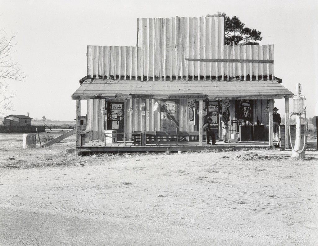 Country Store and Gas Station, Alabama, 1936