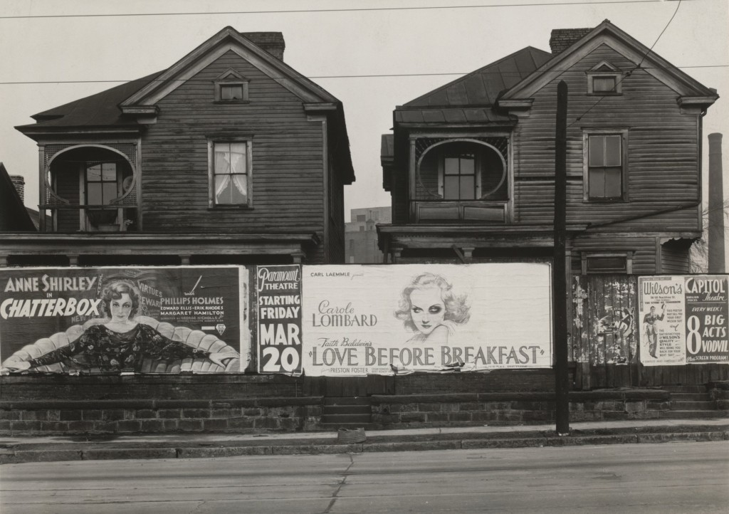Houses and Billboards in Atlanta, 1936