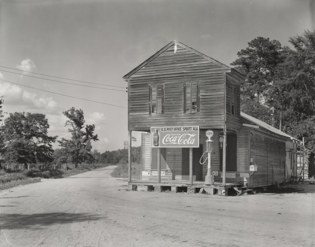 Post Office, Sprott, Alabama, 1936