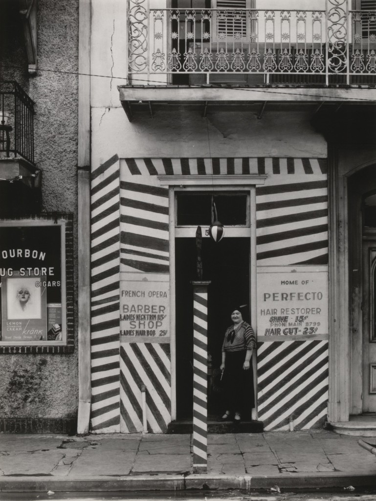 Sidewalk and Shopfront, New Orleans, 1935