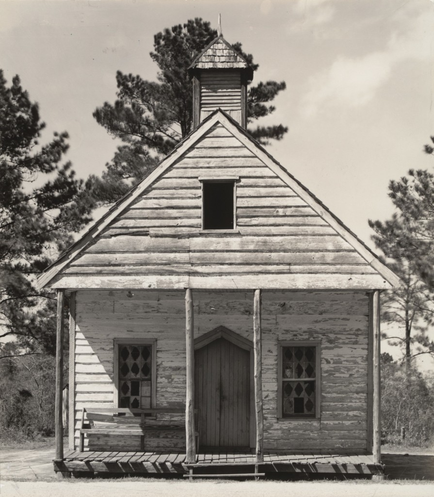 Wooden Church, South Carolina, 1936