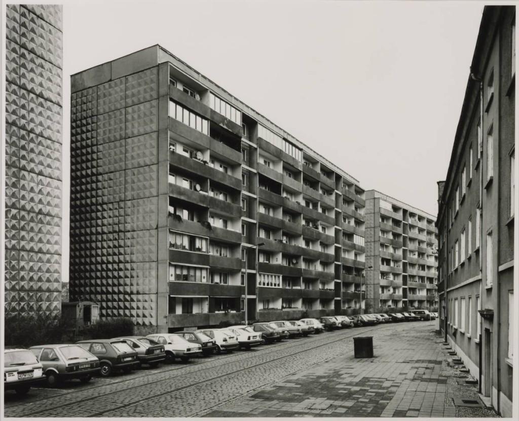 Ferdinand-von-Schill-Strasse, Dessau, 1991