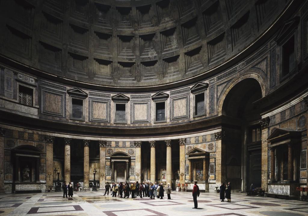 Pantheon, Rome, 1990