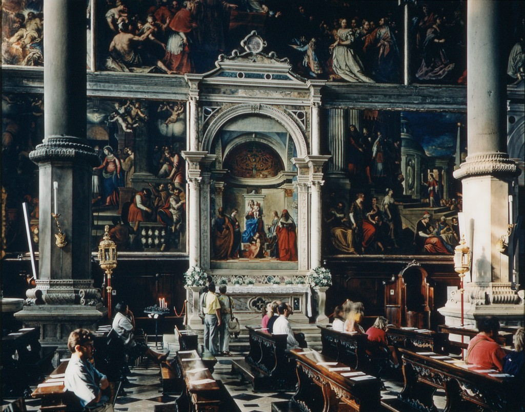 San Zaccaria, Venice, 1995