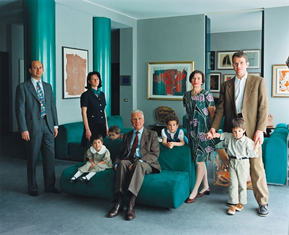 The Consolandi Family I, Milan, 1996