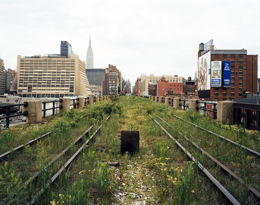 Из проекта Walking the High Line (2000-2001)