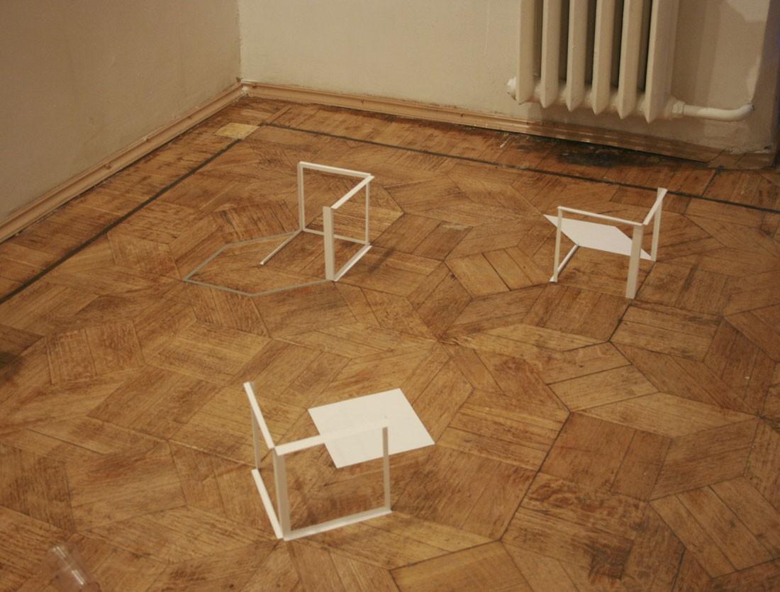 Измерения в плоскости. Эскиз. 2012