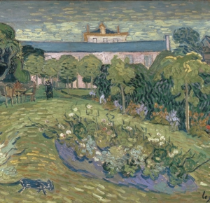 Винсент Ван Гог. Сад Добиньи. 1890 Kunstmuseum Basel, Базель