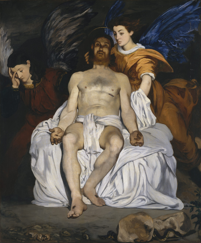 Эдуард Мане. Мертвый Христос с ангелами. 1864 // Фото: metmuseum.org