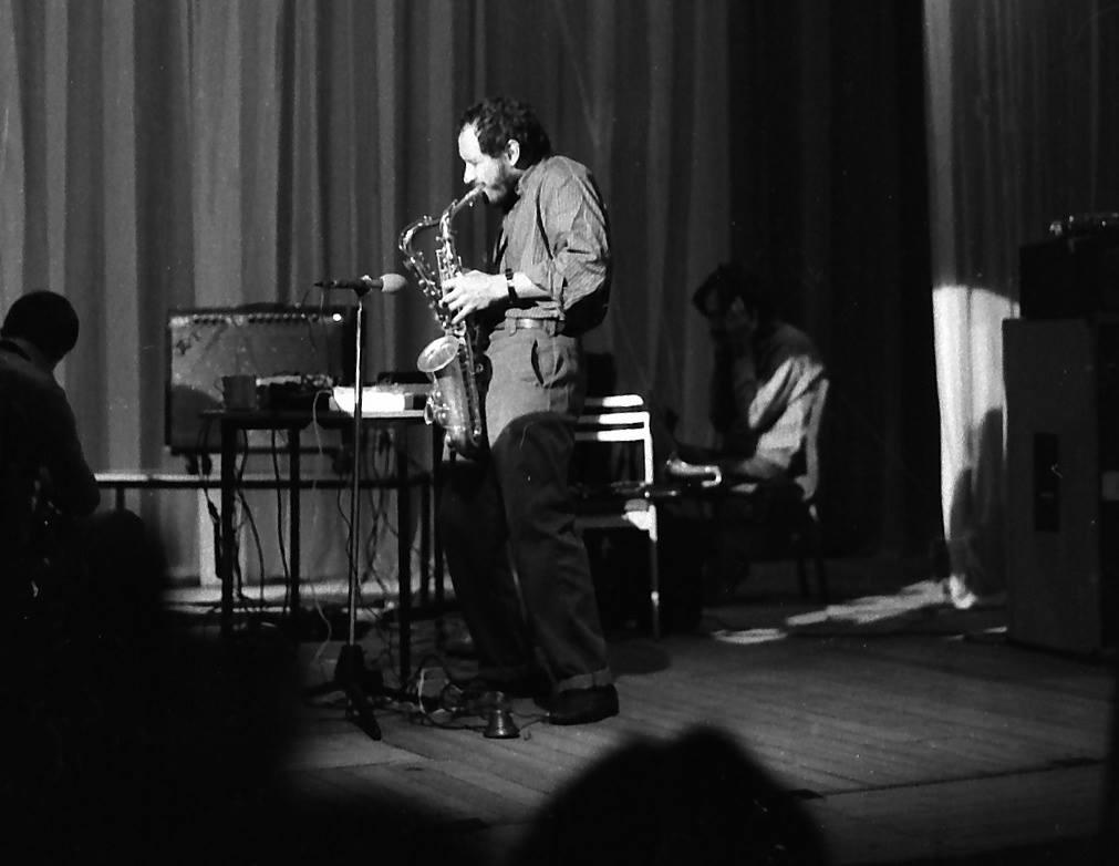 Выступление Владимира Чекасина в Клубе любителей импровизации. Волгоград, Дворец пионеров, 1986