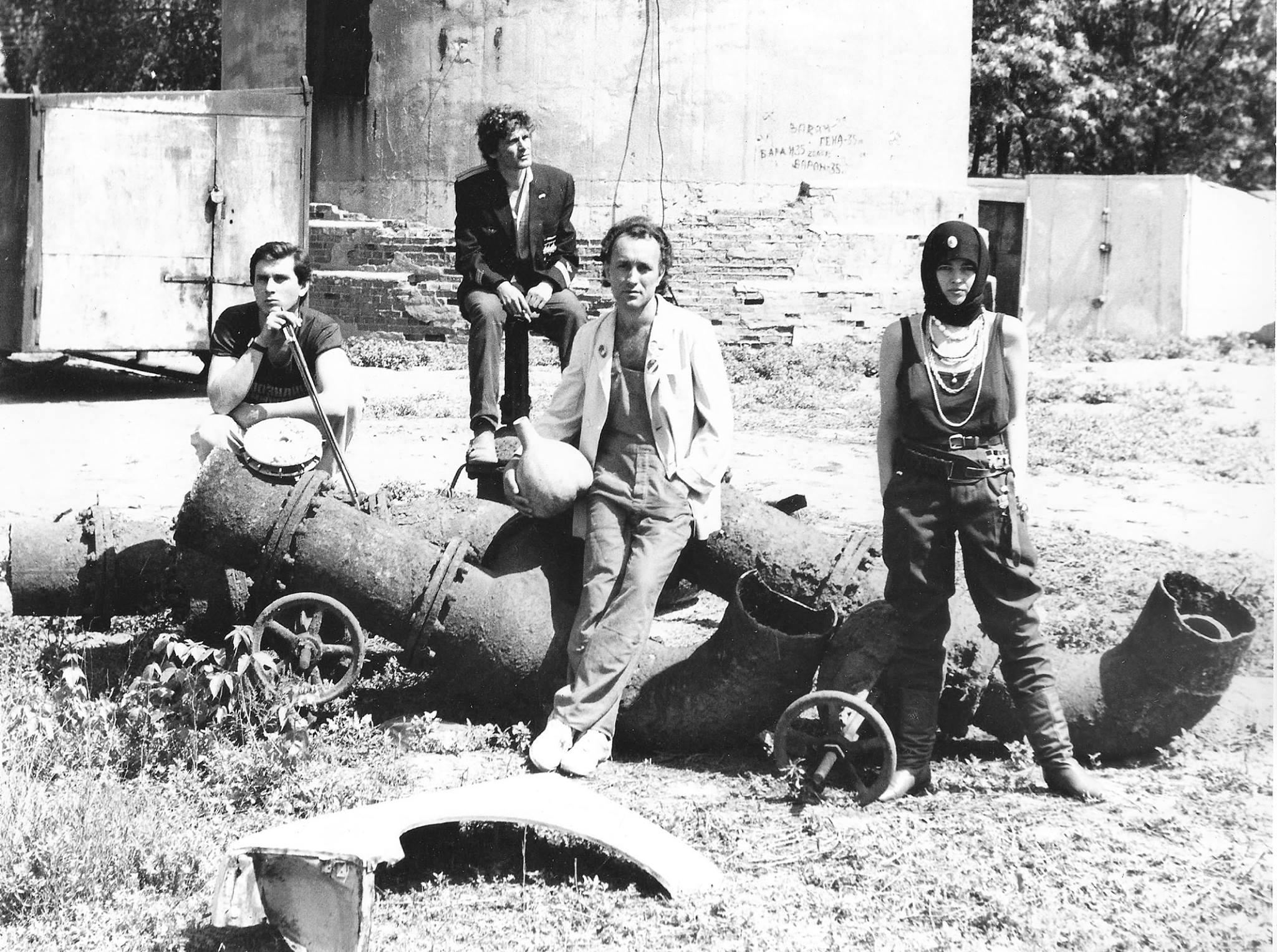 «Оркестрион», заброшенная котельная, Заканалье, 1987