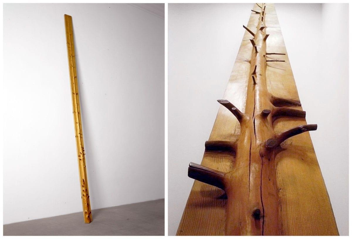 Джузеппе Пеноне. Восьмиметровое дерево. 1969 // museoradio3.rai.it