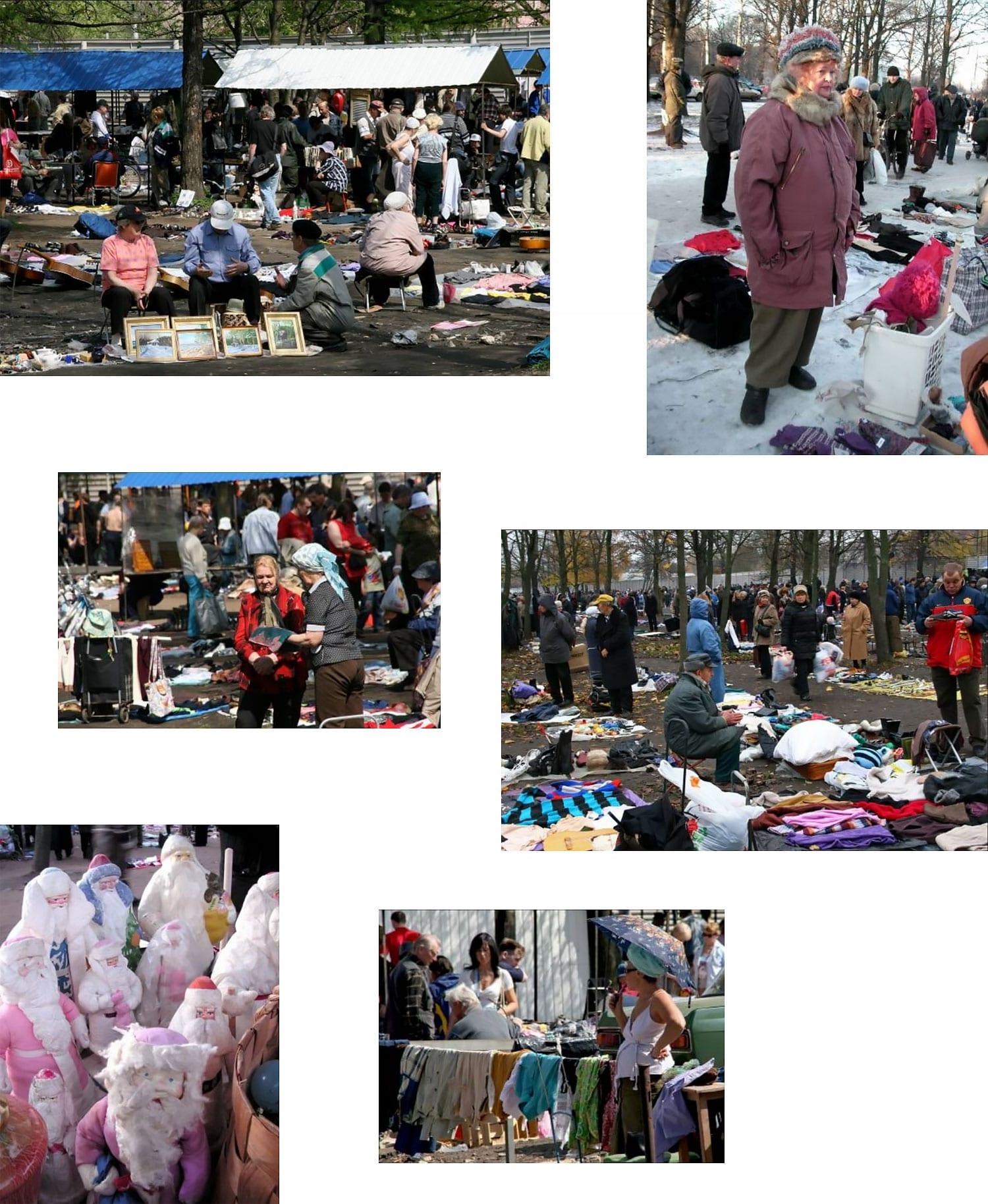 Рынок на Удельной в Петербурге // Фото: Лилия Воронкова