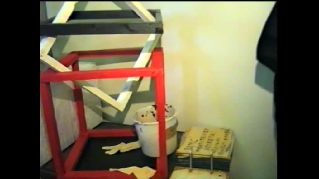 Александр Ванин, Владимир Криволапов.  «Чернильница Беккета». Волгоград, ТЮЗ, 1995