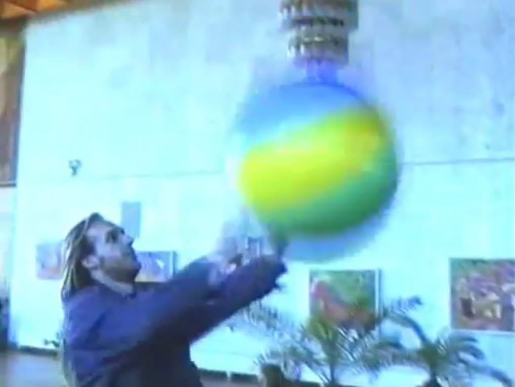 Елена Самборская. «Пикник на культурной обочине». Волгоград, Дом Политпросвещения, 1995