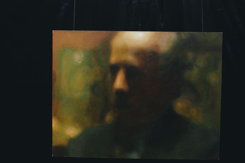 Центральная часть триптиха «У подножия распятия»