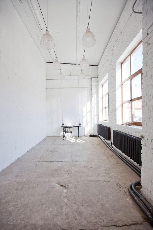 Мастерская и выставочное пространство арт-резиденции ЦСИ «Заря» // Фотографии предоставлены ЦСИ «Заря»