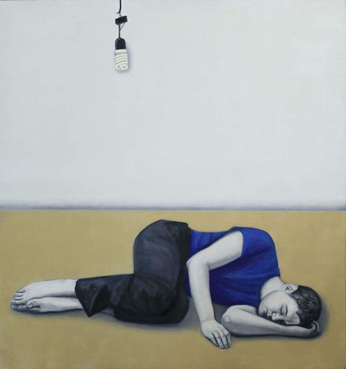 2.Асмик Мелконян «Спящий в городе», из серии «Спящий город». Предоставлено автором.