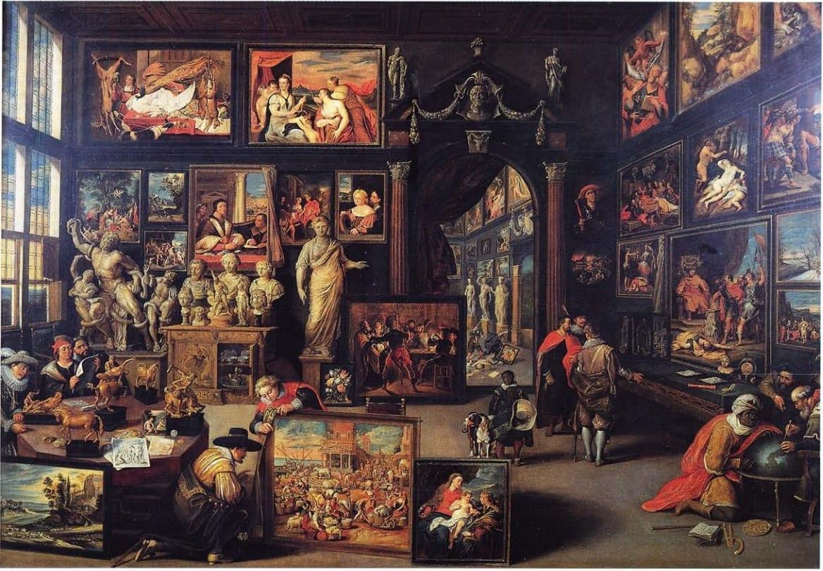 Виллем ван Хахт. Галерея Корнелиса ван дер Геста. 1628