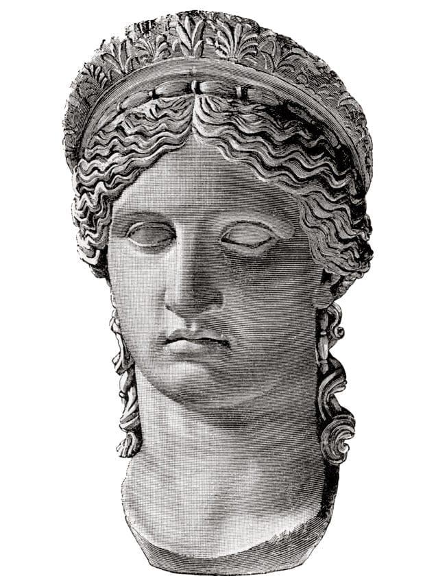 Юнона Людовизи. 1-я половина 1 в. н. э.