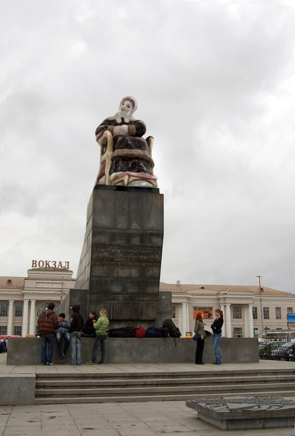 Владимир Селезнёв. Неизвестные памятники. 2006