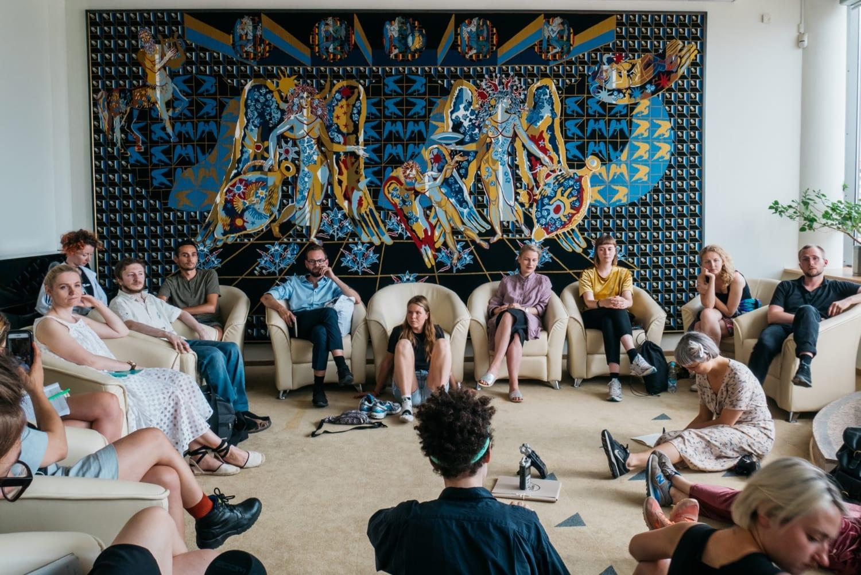 Кара Толми.Сессия слушания «Гендер звука». Фото Николая Спесивцева