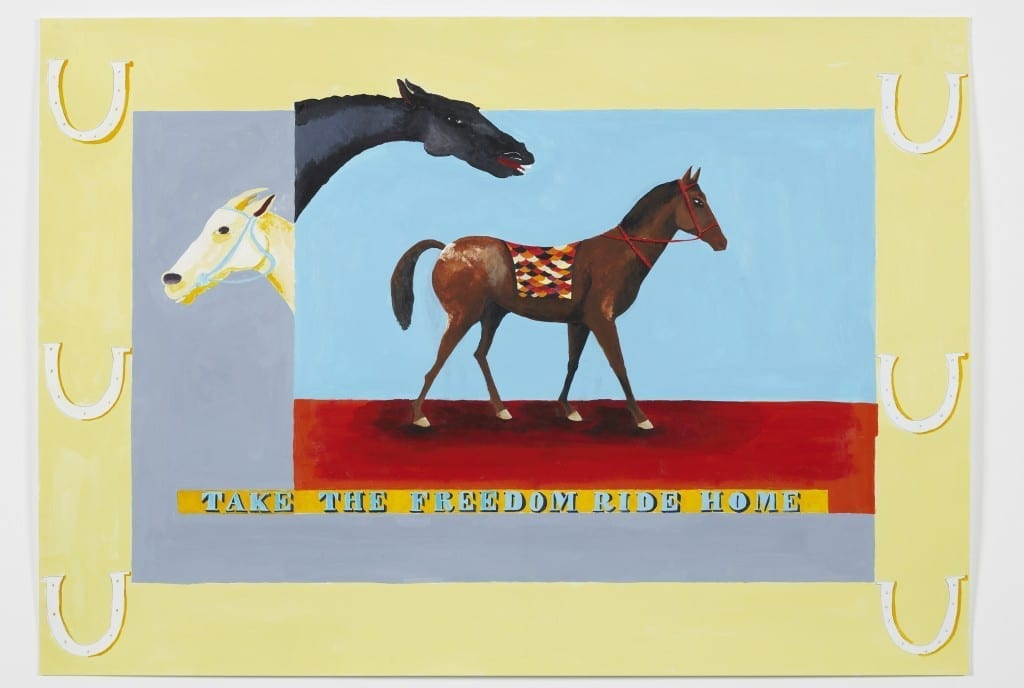 Lubaina Himid. Take The Freedom ride Home, 2016 // Akademie Der Kunst