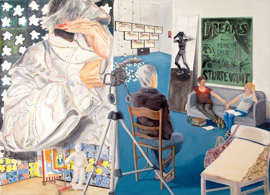 Lydia Hamann & Kaj Osteroth. Admiring Elaine Sturtevant, The Razzle Dazzle of Thinking, 2015 // Akademie Der Kunst