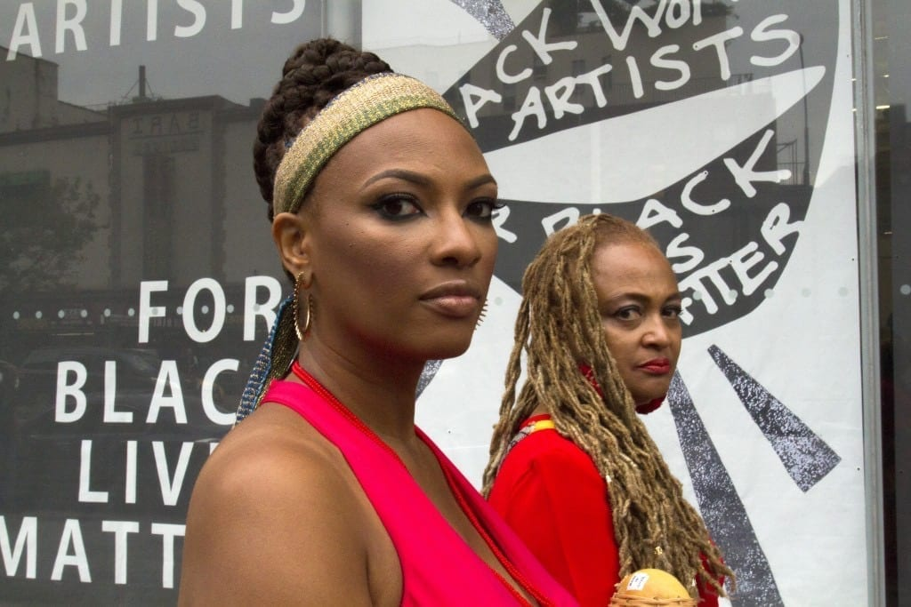 Simone Leigh. Black Women for Black Lives Matter, 2016 // KW Institute for Contemporary Art