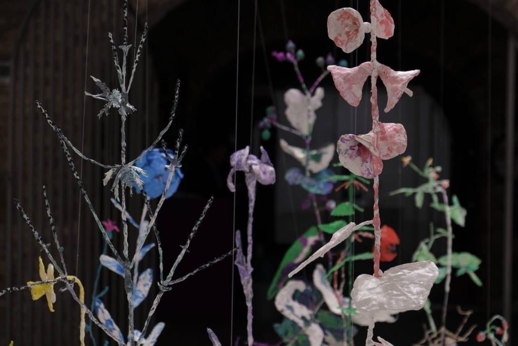 Алина Бровина. Palus Florens. Фрагмент инсталляции. Проект СТАРТ, ЦСИ Винзавод, 2019.