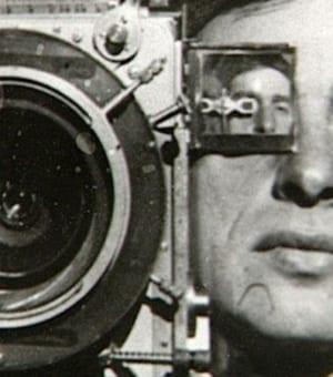 Афиша к фильму «Человек с киноаппаратом», Дзига Вертов.